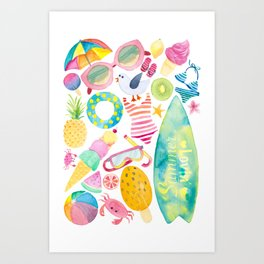 Summer Extravaganza Art Print