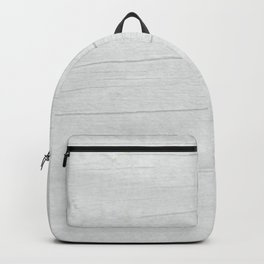 Gray Weathered Wood Backpack