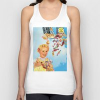 candy Tank Tops featuring candy by •ntpl•
