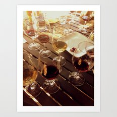 Winery Art Print