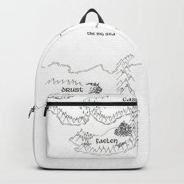 STORM SIREN Original Map (bk 1) Backpack