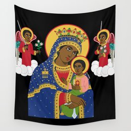 MARY AND CHRIST Wall Tapestry