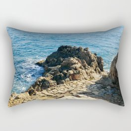 Love By The Sea Rectangular Pillow