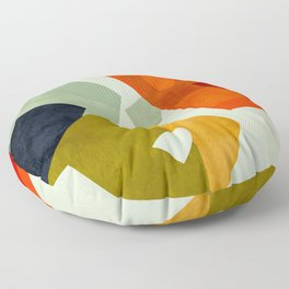 bric a brac mid century III Floor Pillow