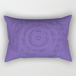 Violet Rainbow Rectangular Pillow