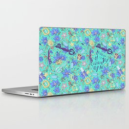 Kingdom Hearts Floral Laptop & iPad Skin