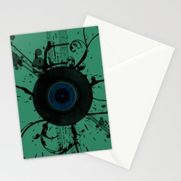 Vintage Vinyl Stationery Cards