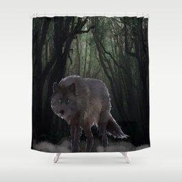 Fenris Wolf Shower Curtain