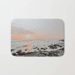 beach sunset / kailua-kona, hawaii Bath Mat