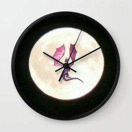Moondragon 2 Wall Clock