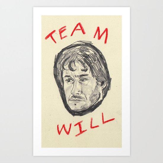 Team Will Art Print