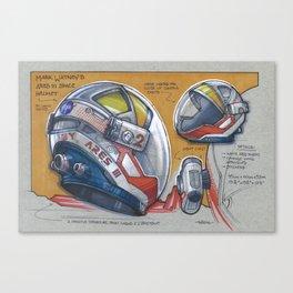 The Martian Helmet Canvas Print