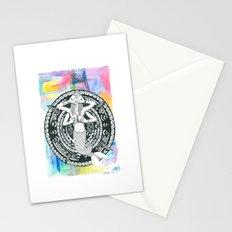 mermaid love Stationery Cards