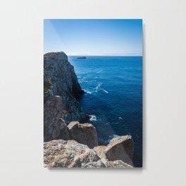 Tasmanian Coastline Metal Print