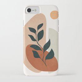 Soft Shapes II iPhone Case