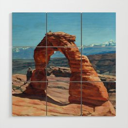 delicate arch Wood Wall Art