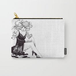 Octopus girl Carry-All Pouch