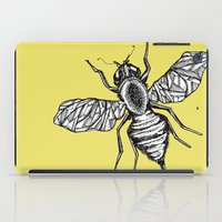 bee iPad Cases featuring Bee by Aubree Eisenwinter