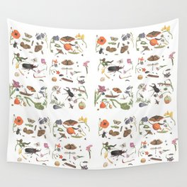 Common place miracles -Natural History Part II Wall Tapestry