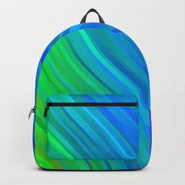 stripes wave pattern 1 stdv Backpack