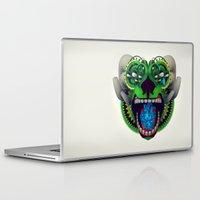 mythology Laptop & iPad Skins featuring Artificial Mythology by Diligence