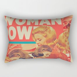 Woman Power Rectangular Pillow