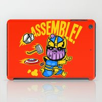 thanos iPad Cases featuring Assemble! by Demonigote