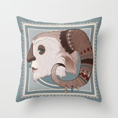 yeti Throw Pillow