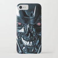 terminator iPhone & iPod Cases featuring The Terminator by Photographicleigh