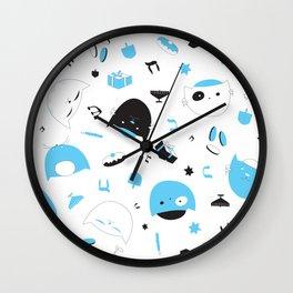 Hannukats White Wall Clock