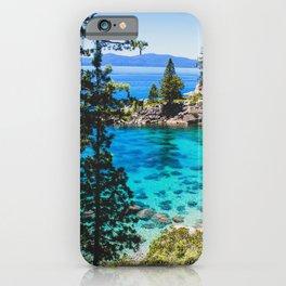 Lake Tahoe Bay iPhone Case