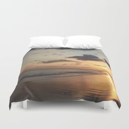 Colors of Sunset Duvet Cover