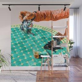 Chai #painting #digitalart Wall Mural
