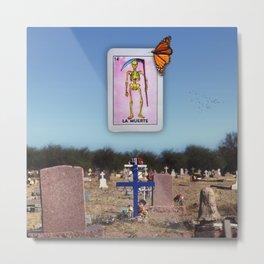 La Muerte Metal Print