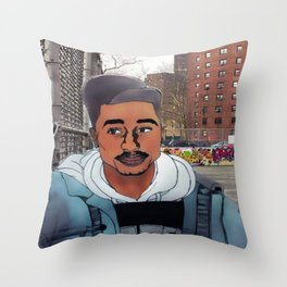 Bishop is baee Throw Pillow