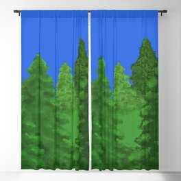 Arbor Day Trees Blackout Curtain