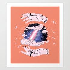 Hidden Space Art Print