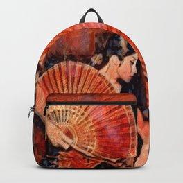 Flamenco Dancer Backpack