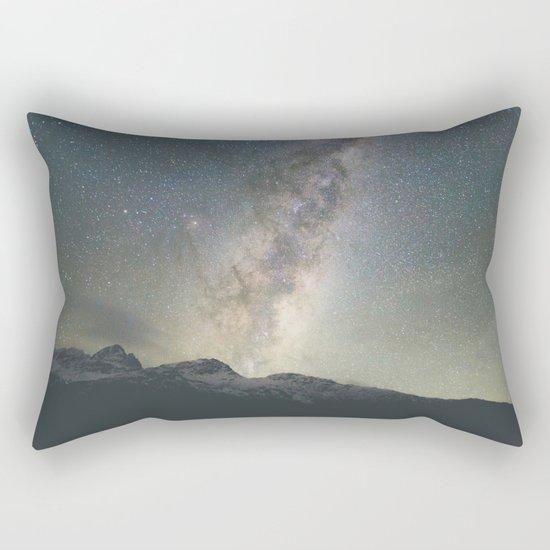 Stars over Mount Aspiring Rectangular Pillow