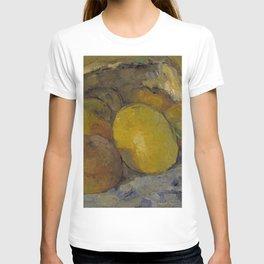 Paul Cezanne - Overturned Basket of Fruit T-shirt