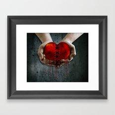 The Resilient Heart Framed Art Print