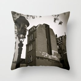 Poetic City Throw Pillow