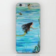 Under the Sea Mermaids Swim iPhone & iPod Skin