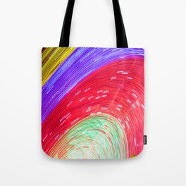 Painted by light Tote Bag