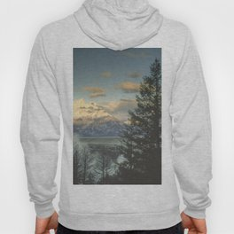 grand teton high country sunrise Hoody