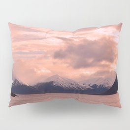 Rose Quartz Over Hope Valley Pillow Sham