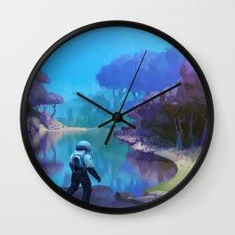 Otherwordly Wall Clock