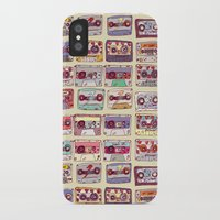records iPhone & iPod Cases featuring Nobody's records by kubizm
