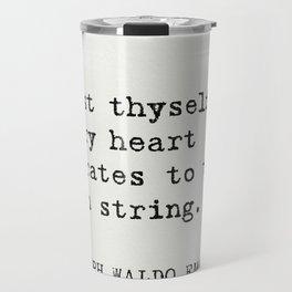THE BEST RALPH WALDO EMERSON EVER quotes Travel Mug