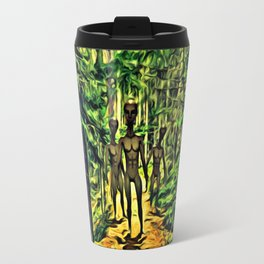 The Aliens Are Here Travel Mug